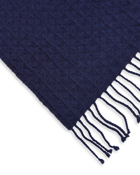 a & R Cashmere Waffle-Weave Cashmere-Blend Throw~3030782339