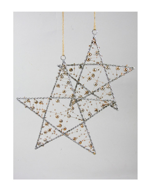 Cody Foster Set of 2 Star Ornaments~3050551382