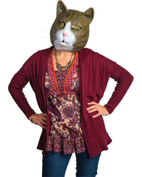 BigMouth Inc. Brown Cat Mask~5040492699