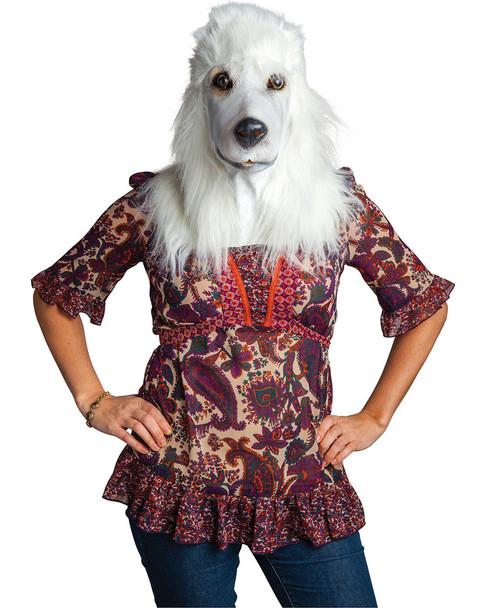 BigMouth Inc. White Poodle Mask~5040492701