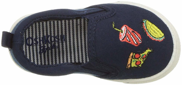 OshKosh B'Gosh Baby Boy foodie-b Canvas Slip On Sneakers~pp-01fce900