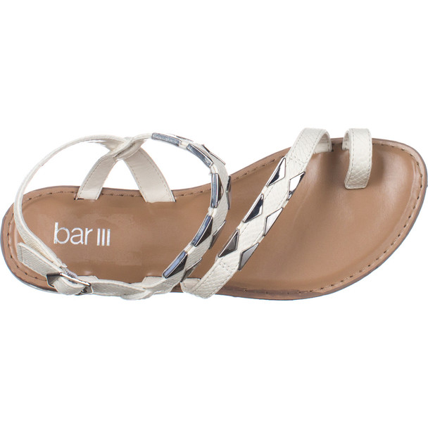 Bar III Womens Vadya Open Toe Casual Strappy Sandals~pp-0636f51c