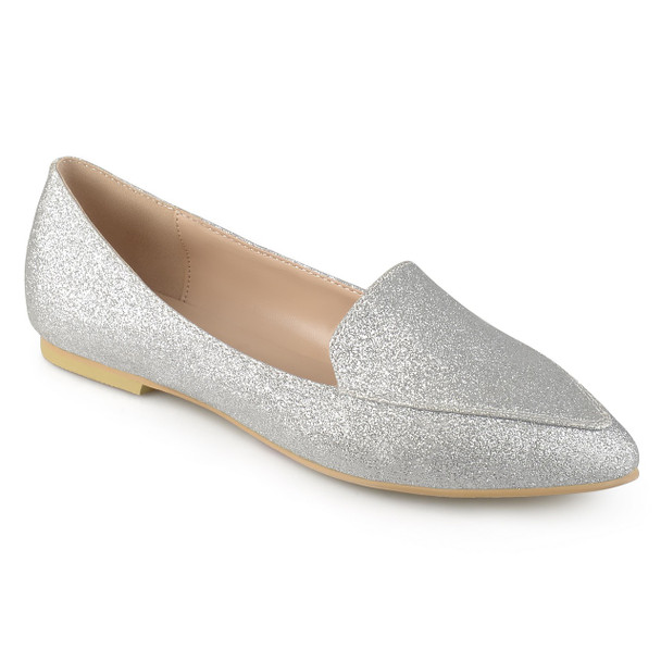 Journee Collection Womens Kinley Pointed Toe Loafers~pp-081a0df7