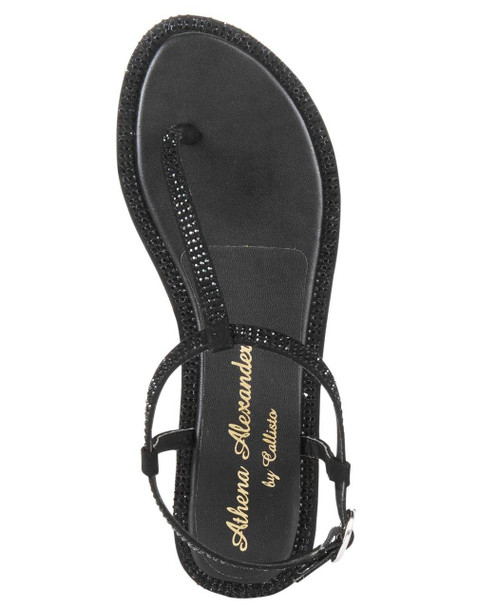 Athena Alexander Womens indya Open Toe Casual T-Strap Sandals~pp-16d8ab93