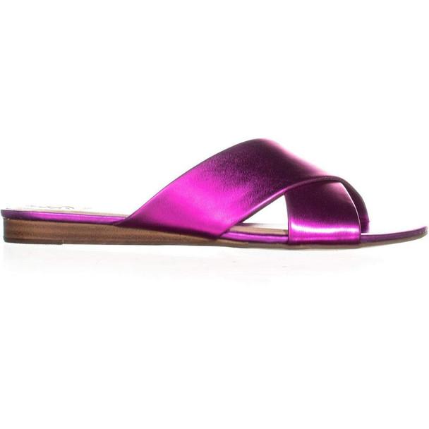 GUESS Womens Flashee3 Open Toe Casual Slide Sandals~pp-25e9402e