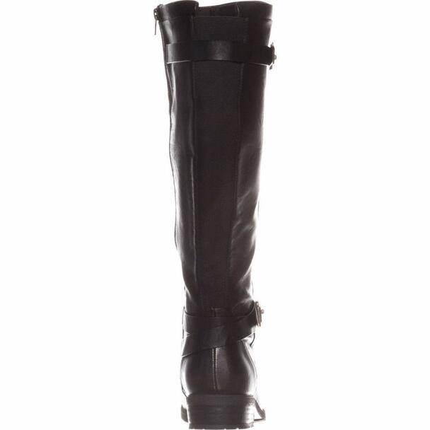 BareTraps Womens Yalina2 Wide Calf Faux Leather Riding Boots~pp-291825cb