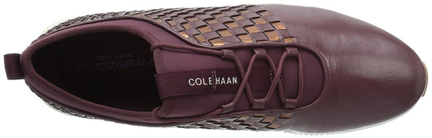 Cole Haan Womens 2.0 Studiogrand Weave Trainer Low Top Lace Up Fashion Sneakers~pp-2d7a452d