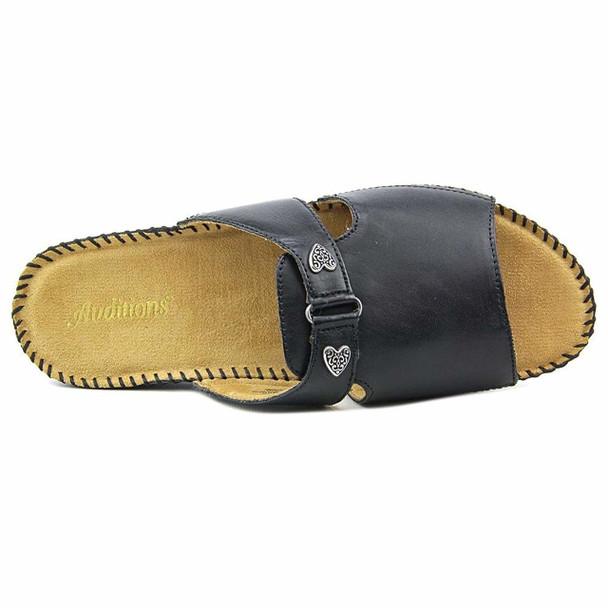 Auditions Womens sparkle Open Toe Casual Slide Sandals~pp-2de987af