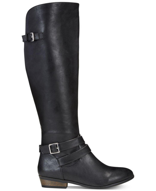 Material Girl Womens carleigh Wide Calf Pointed Toe Knee High Fashion Boots~pp-2e28f411