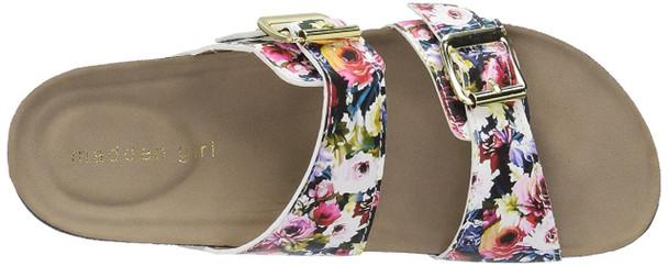 Madden Girl Womens Brando Fabric Open Toe Casual Slide Sandals~pp-300c2247