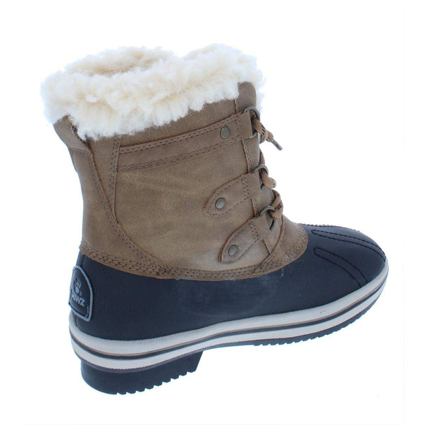 BEARPAW Womens Gina Faux Leather Cold-Weather Winter Boots~pp-36d58e3b