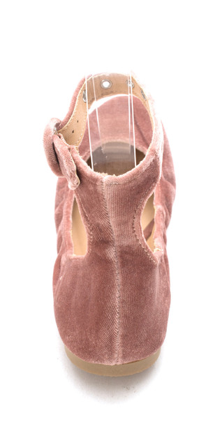 Material Girl Womens Francy1 Fabric Closed Toe Ankle Wrap Ballet Flats~pp-38a87b17
