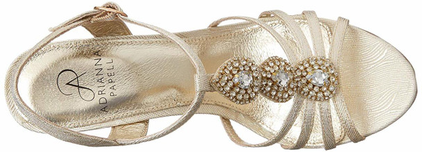 Adrianna Papell Womens Kristen Fabric Round Toe Slingback Sandals~pp-3dfba0a4