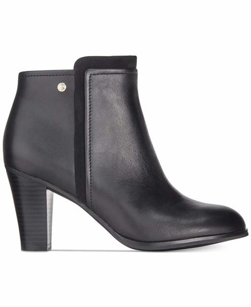 Giani Bernini Womens Bellee Leather Block Heel Booties~pp-40bab087