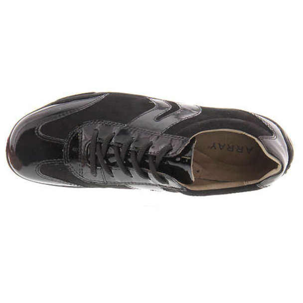 ARRAY Womens Zephyr Leather Low Top Lace Up Fashion Sneakers~pp-45922903