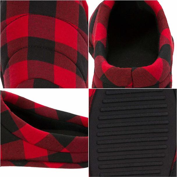 Dearfoams Mens Dearfoams Closed Toe Slip On Slippers~pp-461e91c9