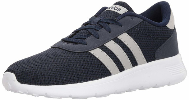 online retailer 8dc58 55c48 ... Adidas Mens Lite Racer Fabric Low Top Lace Up Running Sneaker ~pp-4e05ca19