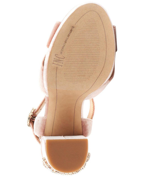 INC International Concepts Womens Rosarria Suede Open Toe Strappy Sandals~pp-4f8a6751