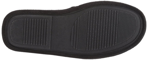 MUK LUKS Mens Game Day Scuffs Fabric Closed Toe Slip On Slippers~pp-56f85174