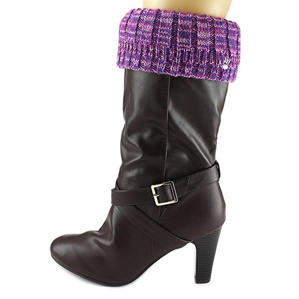 Bearpaw Womens Knit Cuff Fabric Open Toe Ankle Fashion Boots Fashion Boots~pp-57fdc760