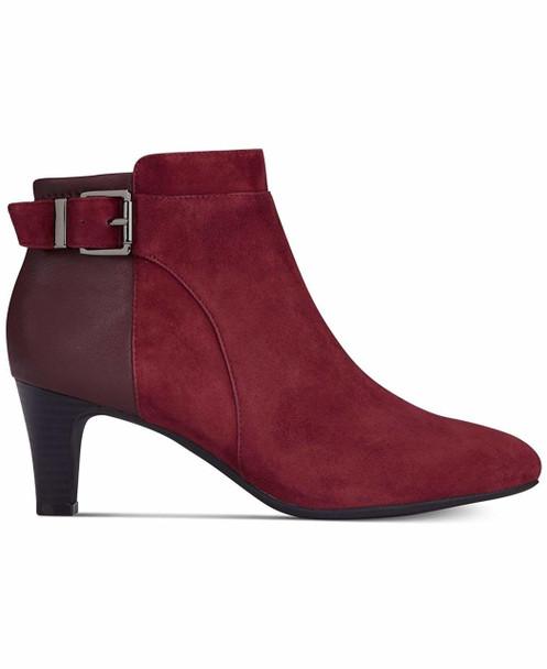 Alfani Womens Viollet Suede Almond Toe Booties~pp-5b5f19fa