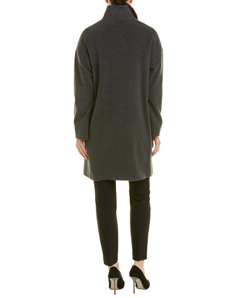 Cinzia Rocca Wool & Cashmere-Blend Coat~1411924196