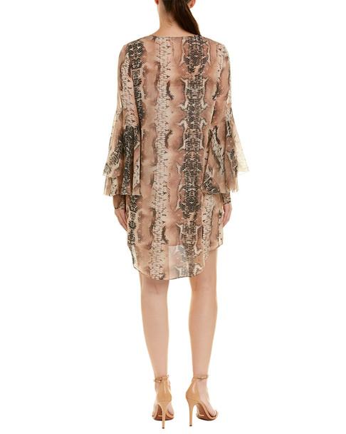 Haute Hippie Rock and Roll Silk Shift Dress~1411952971