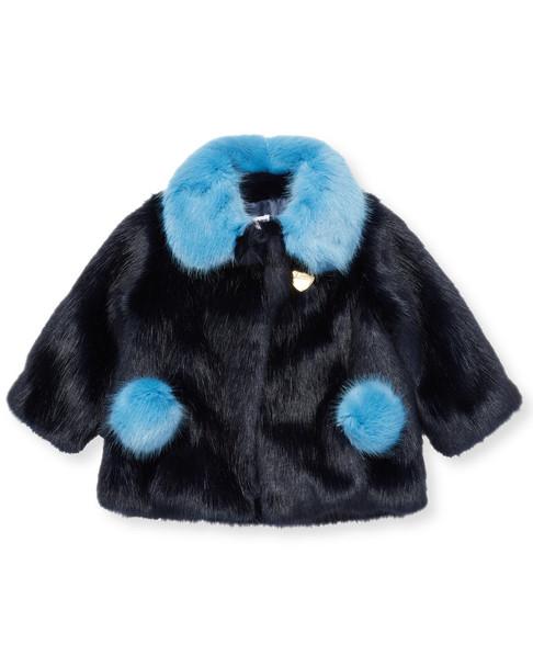 Billybandit Pom Pom Plush Jacket~1511770043