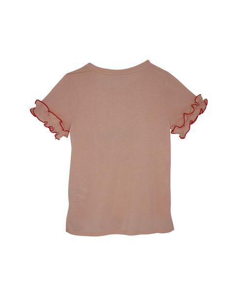 BCBGMAXAZRIA Ruffle T-Shirt~1511938739