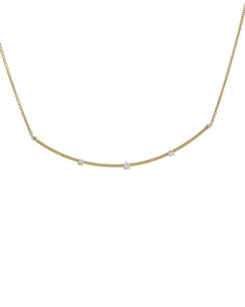 Marco Bicego Luce 18K Two-Tone 0.11 ct. tw. Diamond Necklace~6030977812