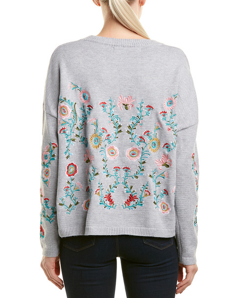 Haute Rogue Sonya Embroidered Sweater~1411112141
