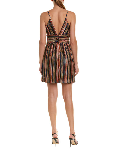 BCBGeneration Striped Mini Dress~1411664803