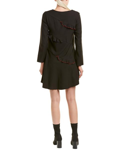 Avantlook Ruffle Shift Dress~1411701679