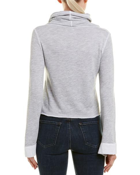 Three Dots Funnel Crop Sweatshirt~1411731707