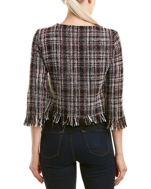 Haute Rogue Lindsey Tweed Top~1411877726