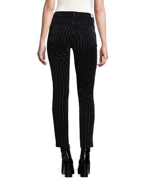 Hudson Jeans Nico Striped Cotton Jeans~1411975095