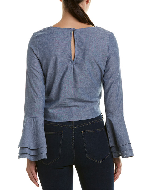 LIKELY Tie-Front Top~1411978374