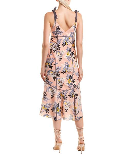 Cinq a Sept Ainsley Silk Midi Dress~1411978580
