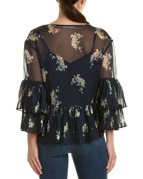 Stevie May Pleated Top~1411979947