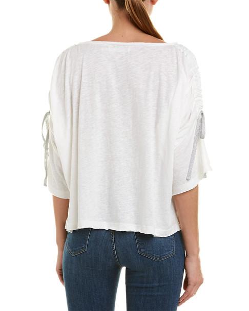 Grey State Selena Linen-Blend Top~1411985775