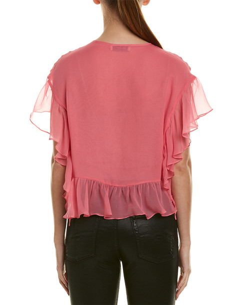 Bailey44 Go With The Flow Silk Top~1411989808