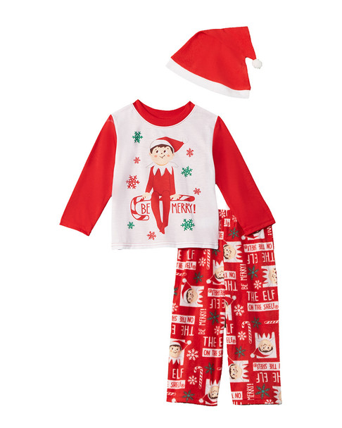 Elf 3pc Pajama Set~1511891375