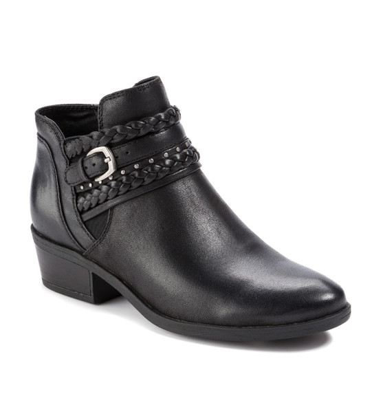 BareTraps Giles short ankle bootie-Black~BT24995