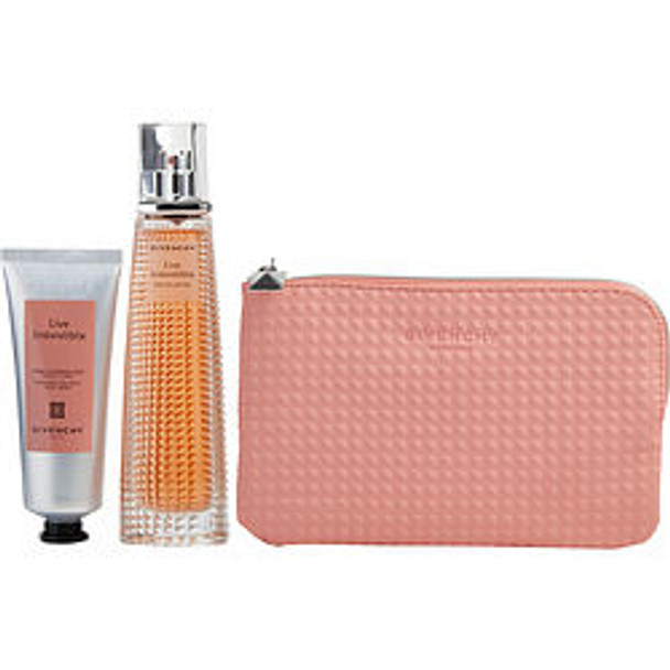 Live Irresistible Eau De Parfum Spray 2.5 Oz (Limited Edition) & Free Body Cream 2.6 Oz & Pouch (Travel Offer) By Givenchy - For Women