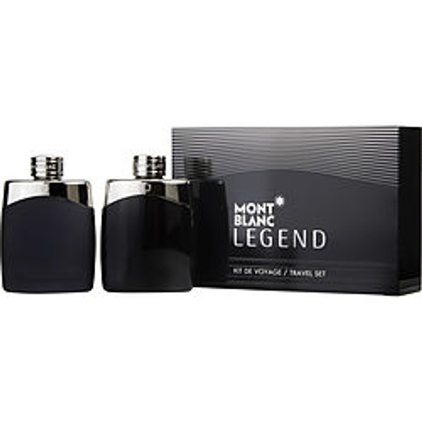 Mont Blanc Legend Edt Spray 3.3 Oz & Aftershave Spray 3.3 Oz By Mont Blanc - For Men