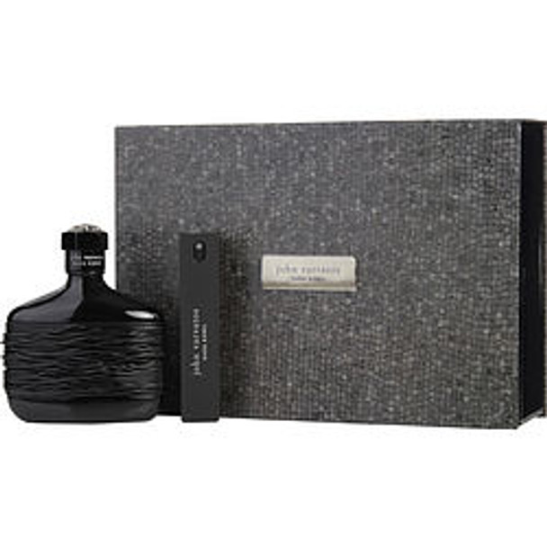 John Varvatos Dark Rebel Edt Spray 4.2 Oz & Edt Refillable Travel Spray .57 Oz By John Varvatos - For Men