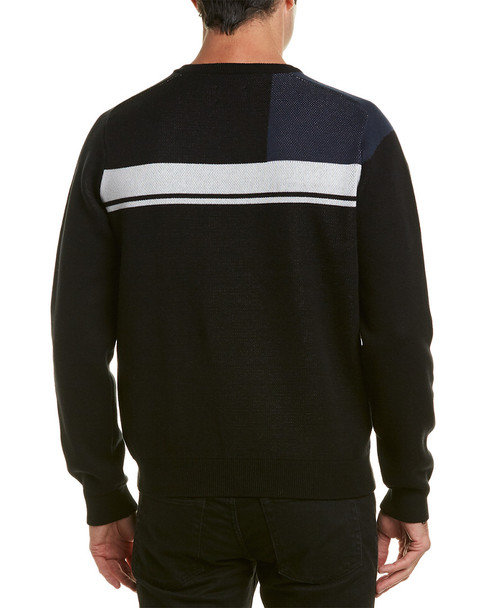 Ben Sherman Multi-Logo Crewneck Sweater~1010003860