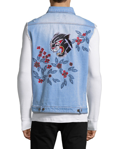 Standard Issue Panther Embroidery Jacket~1010902668