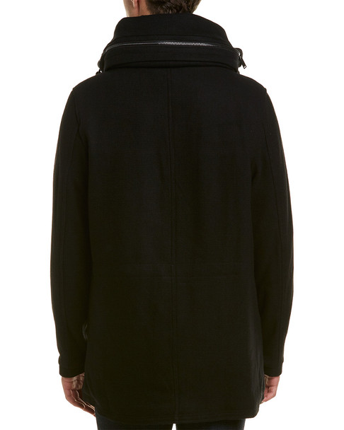 Karl Lagerfeld Textured Wool-Blend Anorak~1010992098
