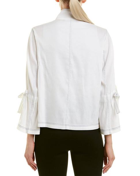Tahari ASL Linen-Blend Suit Jacket~1050782515